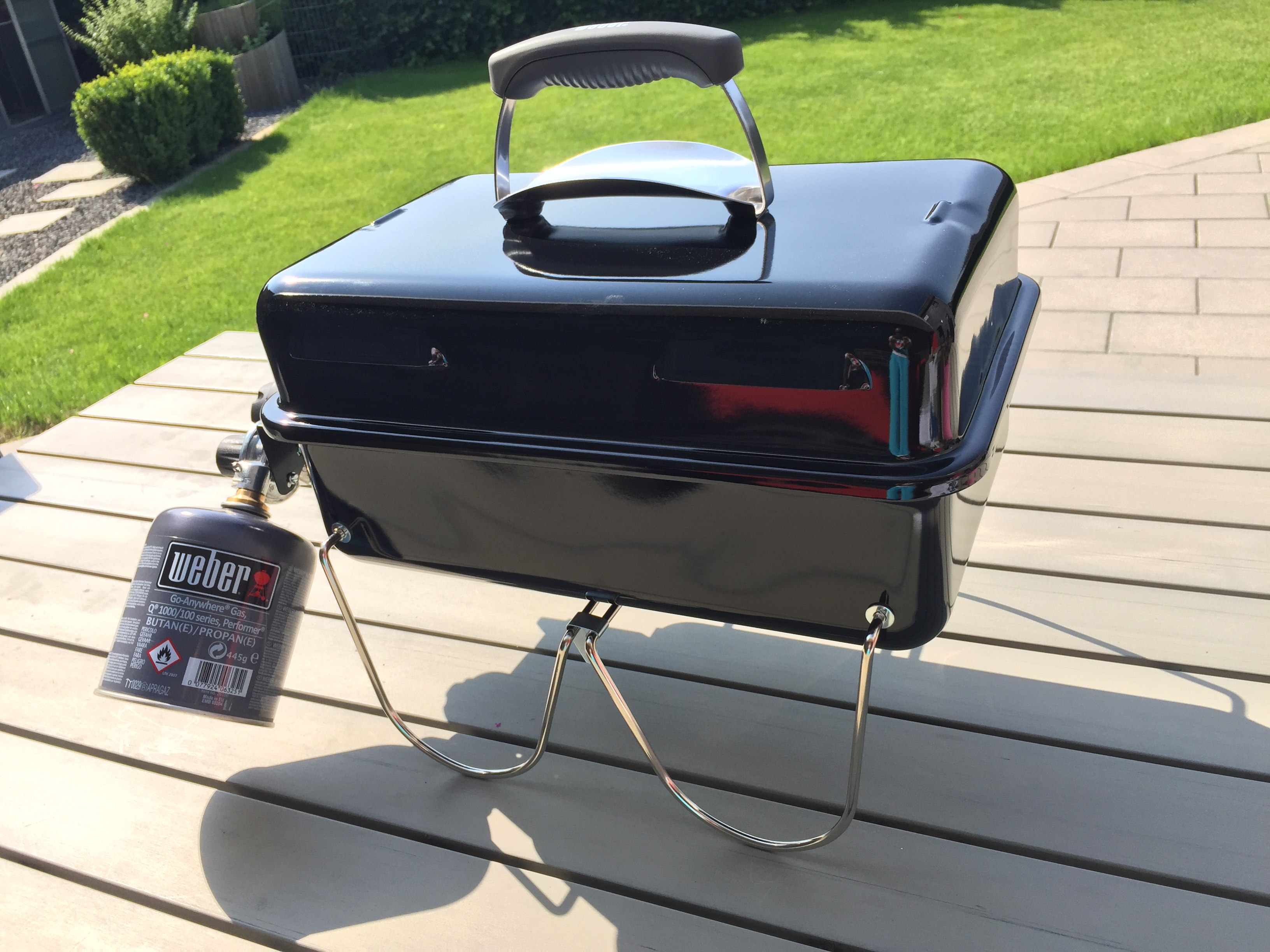 weber go anywhere gas unboxing erster test bbqlicate grill bbq blog. Black Bedroom Furniture Sets. Home Design Ideas