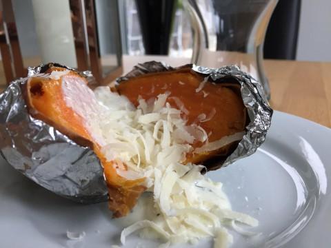 Süsskartoffeln vom Grill