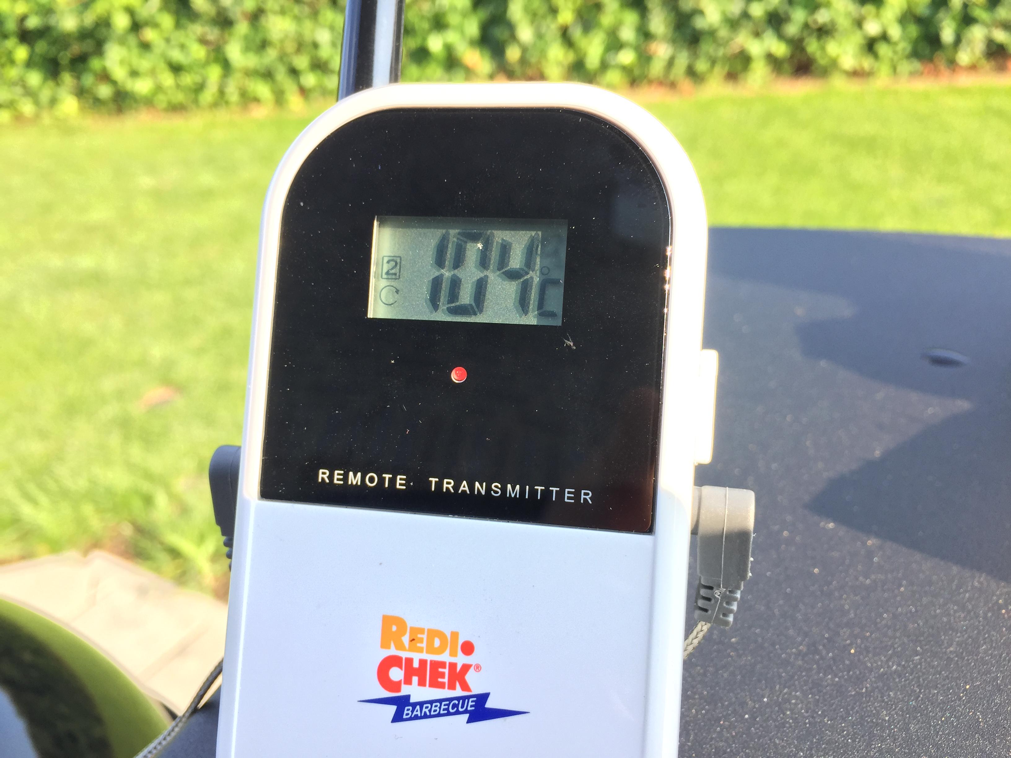 Temperatur passt!