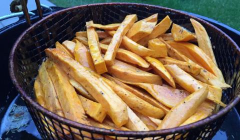 Süsskartoffel-Pommes