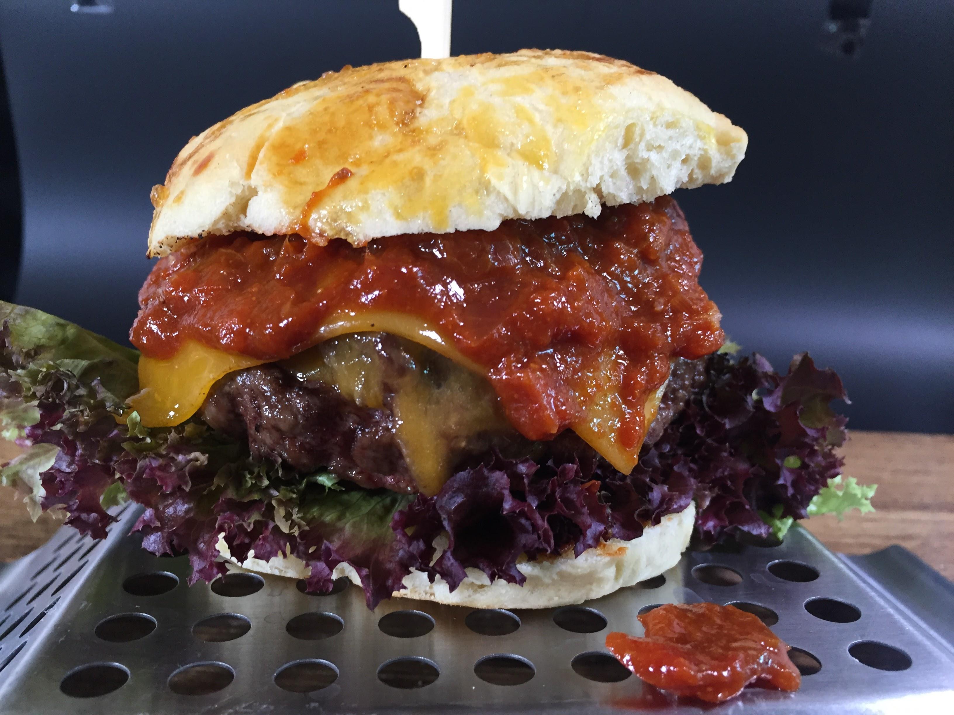 Scotch Beef Burger vom WE-Grill