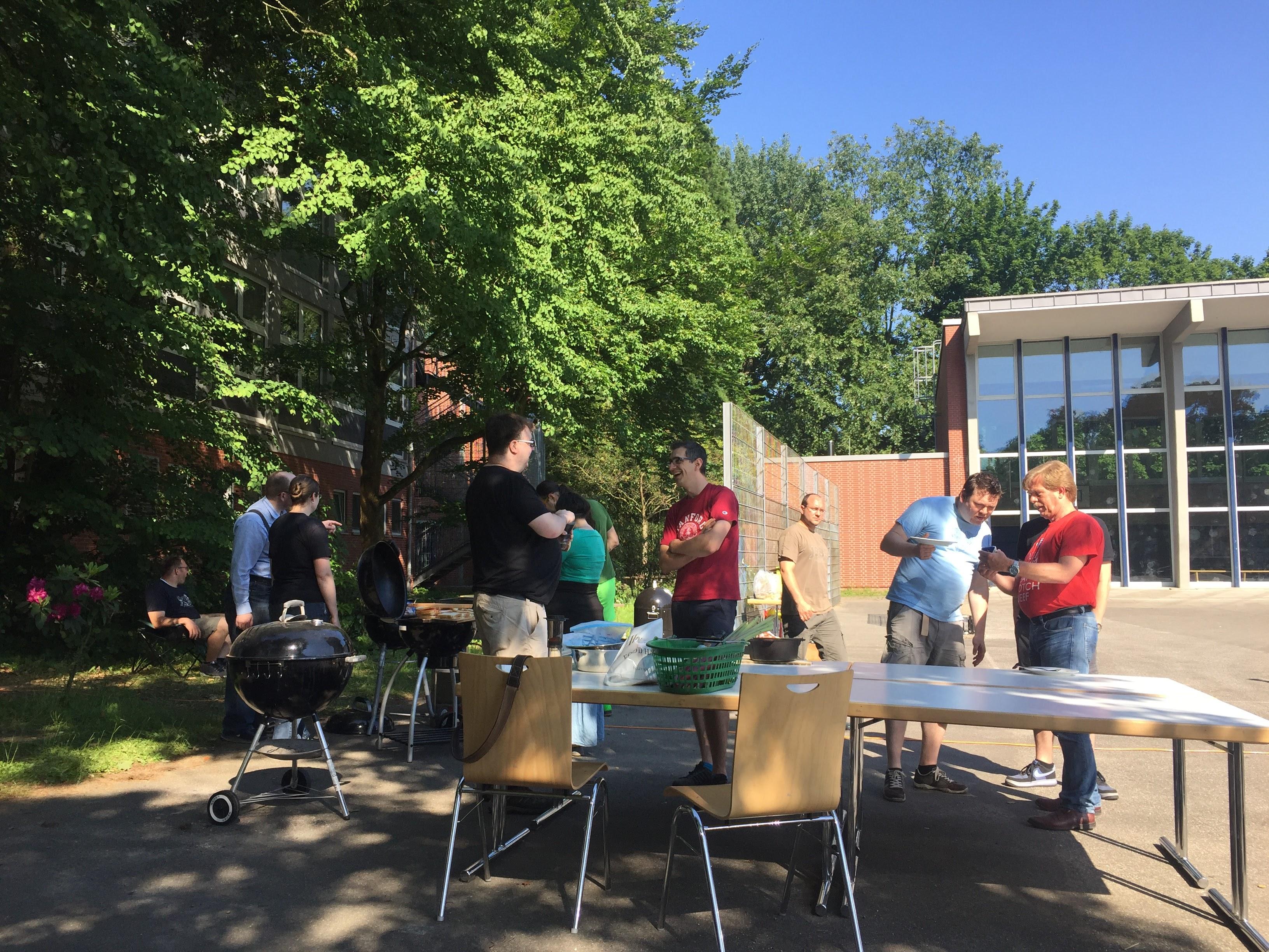 Outdoorküche auf dem Schulhof