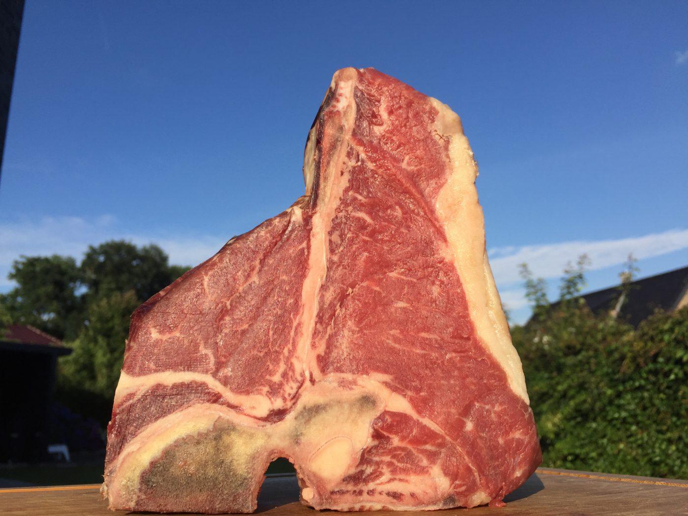 Geniales trockengereiftes Steak