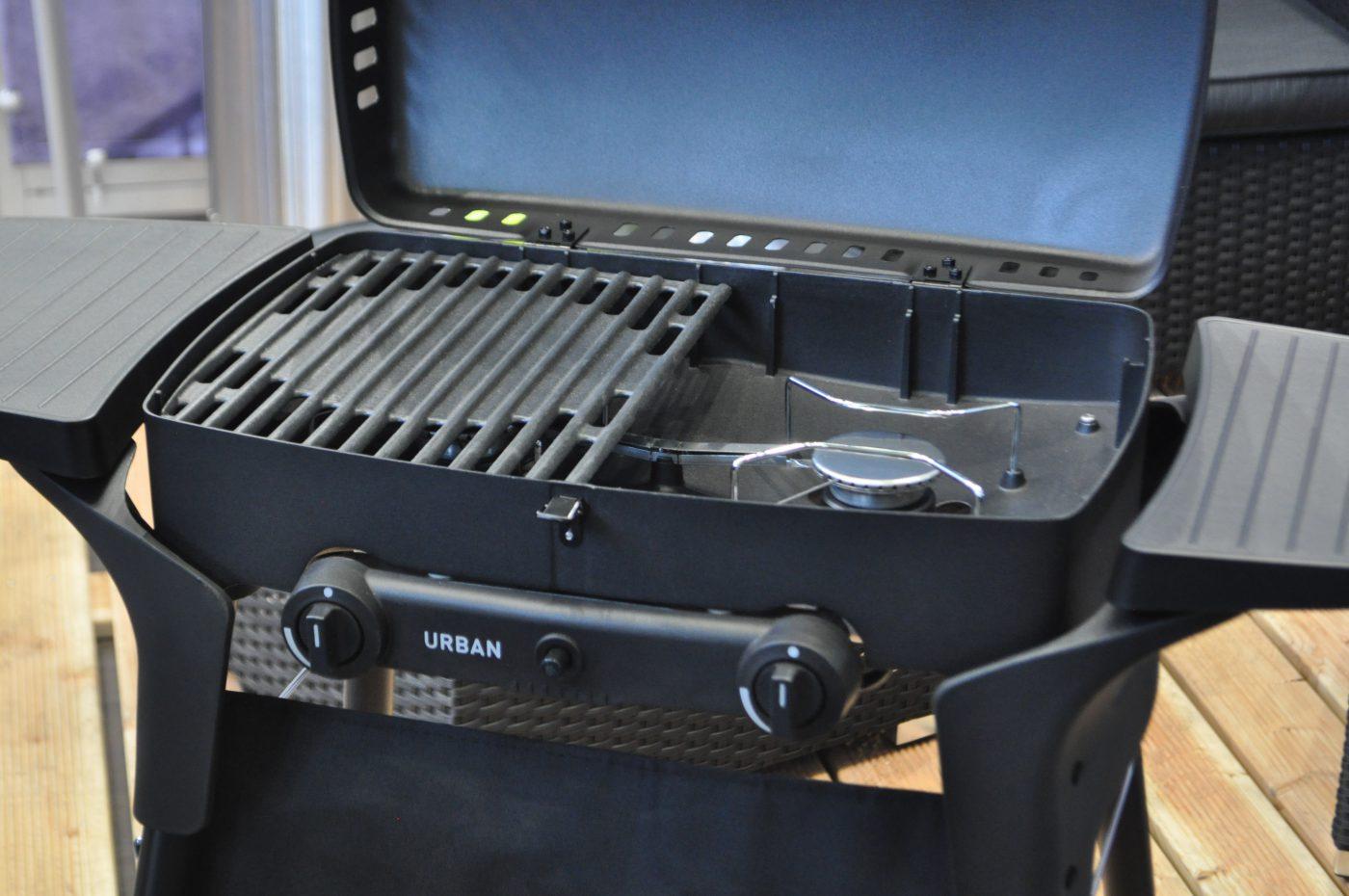 Enders explorer Mobile grill au gaz Table de camping table gril Aluguss PIEZO ALLUMAGE