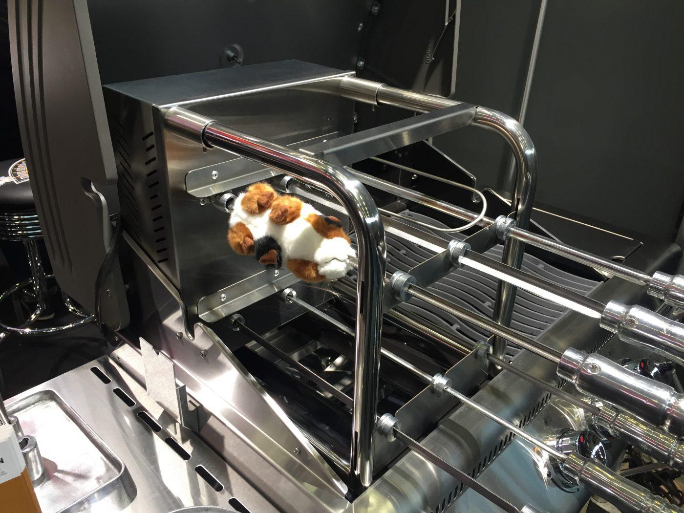 Hamster am Spieß – Spoga 2016