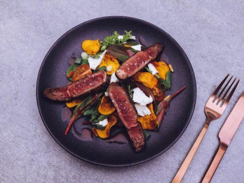 Bunter-Salat-mit-Büffel-Ribeye-6