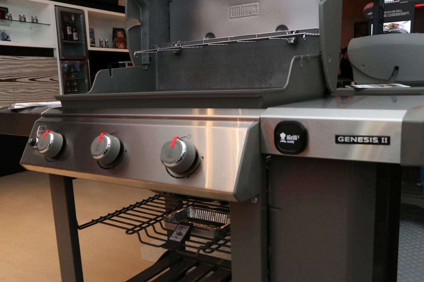 Weber Outdoor Küche Unterschrank : Weber neuheiten 2017 event bbqlicate grill & bbq blog