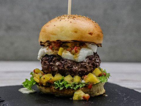 Doppelter Büffel Burger