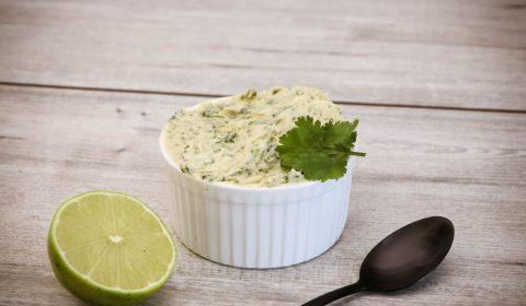 Koriander-Cumeo-Limetten-Butter