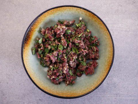 Asiatisches Büffel Tartar vom OFB