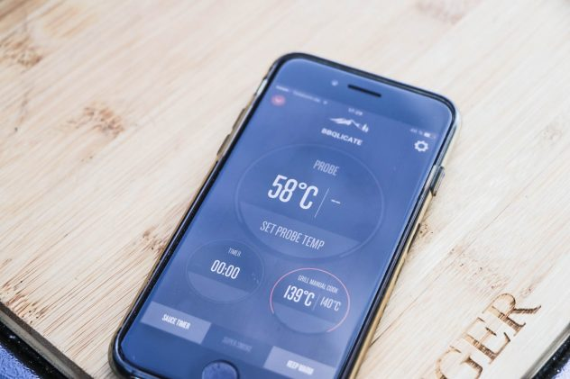 Traeger Timberline Smartphone App