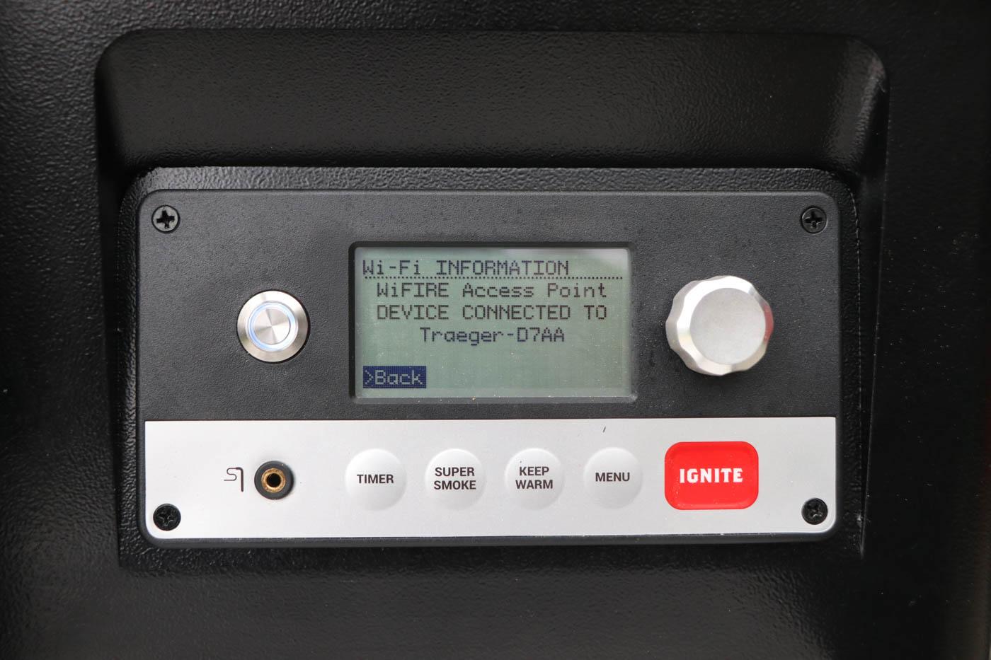 Traeger WiFIRE Access Point  – Smartphone erfolgreich verbunden