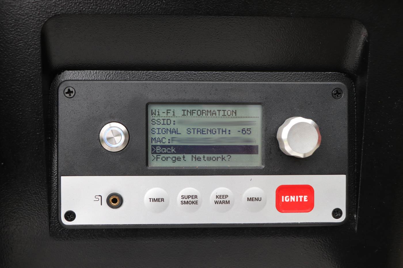 Traeger WiFIRE Access Point  – Erfolgreich mit dem Heimnetzwerk verbunden