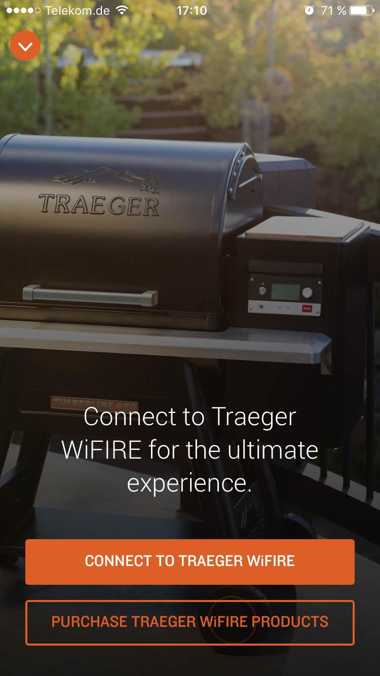 Einrichtung Traeger App