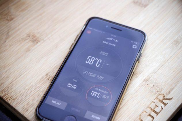 Traeger Smartphone App