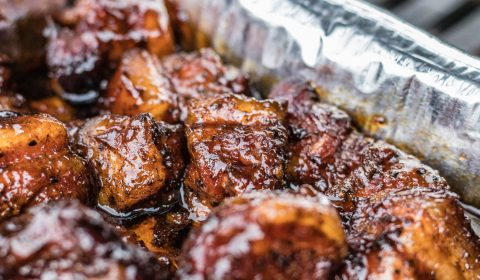 Leckere Pork Belly Burnt Ends