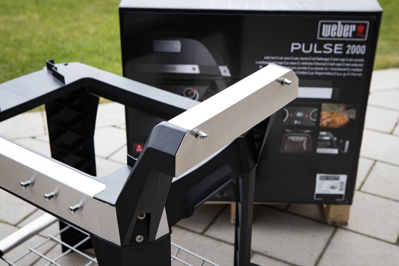 Aufbau Rollwagen für den Pulse 2000