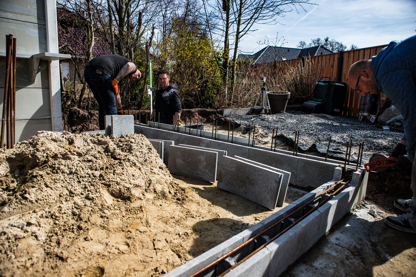 Outdoor Küche Fundament : Projekt outdoorküche teil planung und fundament gießen