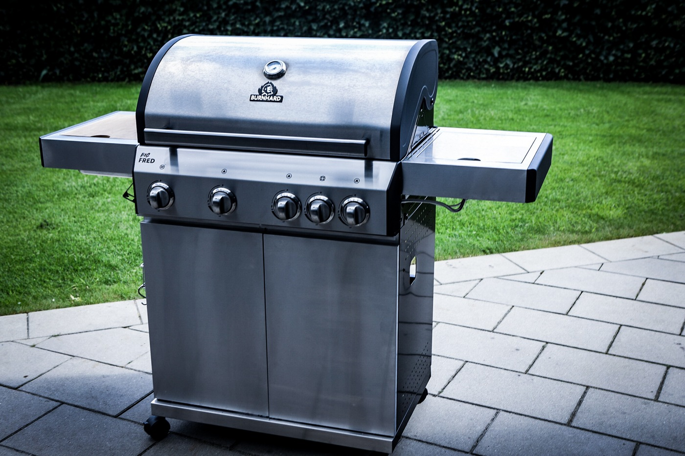 Outdoorküche Gasgrill Test : Justus gasgrill apollo edelstahl youtube