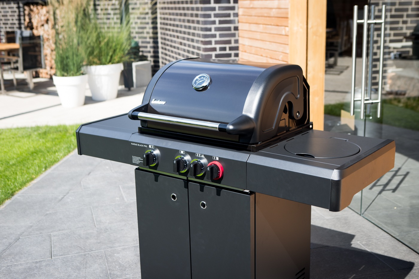Enders Gasgrill Kansas : Testbericht enders kansas gasgrill black pro k turbo vorstellung