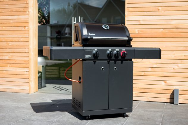 Outdoorküche Gasgrill Test : Testbericht enders kansas gasgrill black pro k turbo vorstellung