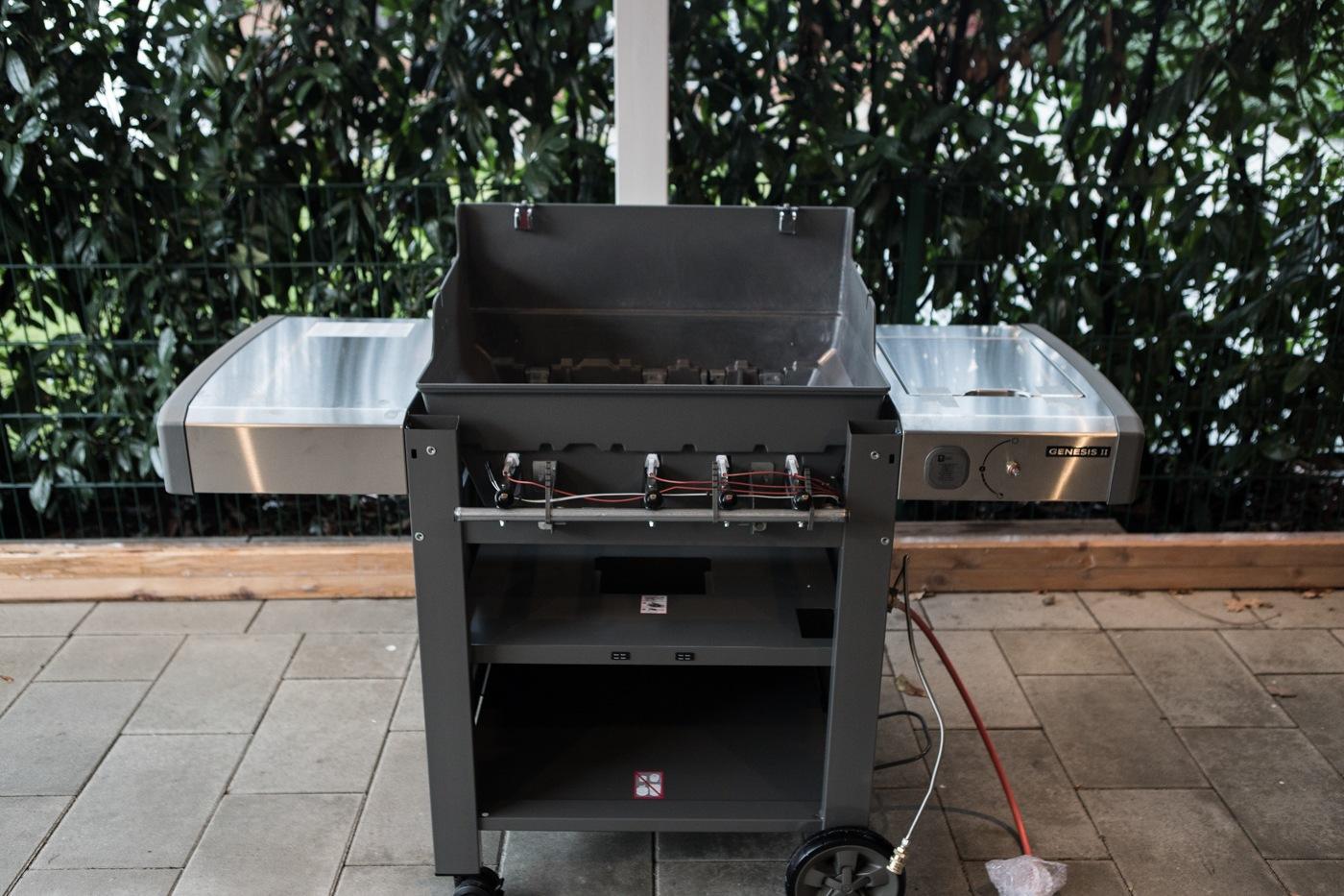 Outdoorküche Mit Weber Genesis : Vorstellung weber genesis ii ep modell grill bbq